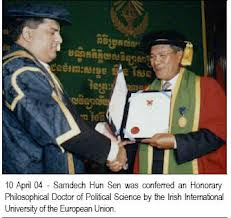 hunsenreceiving degree