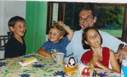 Olivia's children and Pierre