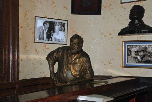 Hemingway at el Floridita